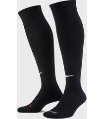 calcetines nike classic football dri-fit negro - calce ajustado