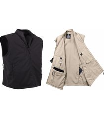 khaki tan black undercover tsa travel walking passport smartphone vest jacket