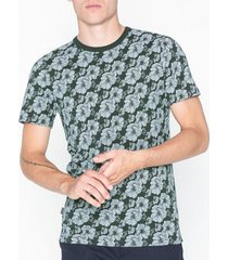 premium by jack & jones jprharry bla tee crew neck t-shirts & linnen mörk grön