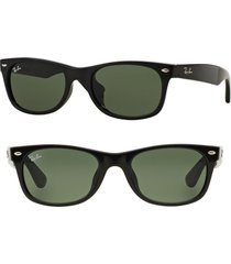 ray-ban new wayfarer classic 52mm sunglasses in black at nordstrom