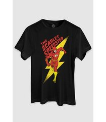 camiseta dc comics the flash the scarlet bandup!