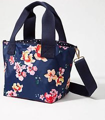loft blossom reversible tote bag