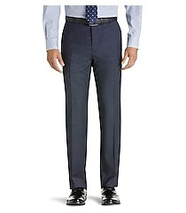 1905 collection tailored fit flat front pre-hemmed houndstooth dress pants clearance by jos. a. bank
