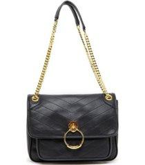 like dreams chevron print handbag