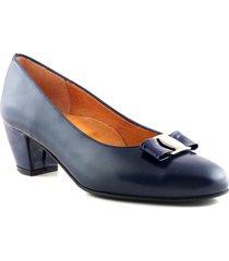 zapato azul briganti clásico