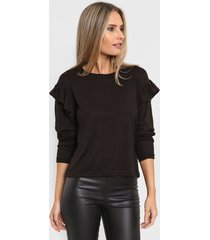 sweater negro nano bahamasano 2125