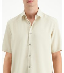 alfani men's solid short sleeve shirt, created for macy's