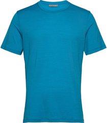 mens tech lite ss crewe t-shirts blå icebreaker