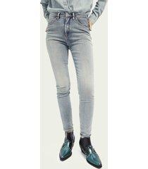 scotch & soda haut high-rise skinny jeans – showcase