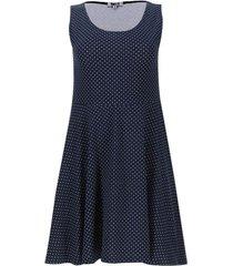 vestido puntos color azul, talla xs