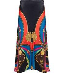 barocco rodeo print skirt