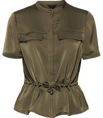 ayvaa blouses short-sleeved grön ted baker