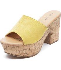 sandalia amarillo fiveblu
