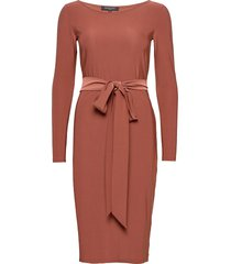 dress knälång klänning orange ilse jacobsen