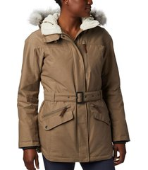 parka carson pass ii beige columbia