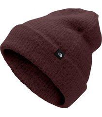 gorro alpine burdeo the north face