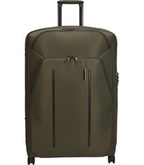 thule crossover 2 30-inch wheeled packing case - green