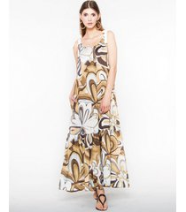 sukienka maxi sunflower