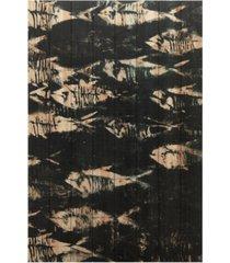 "empire art direct fossilized 1 arte de legno digital print on solid wood wall art, 45"" x 30"" x 1.5"""