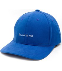 bone diamond leeway baseball strapback azul