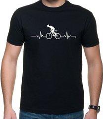 koszulka t-shirt ekg biker black