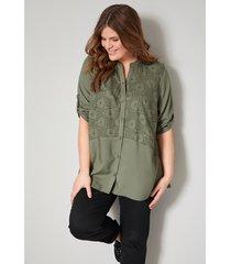 blouse janet & joyce kaki
