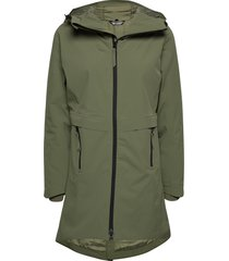 holmevik primaloft long jacket parka lange jas jas groen skogstad