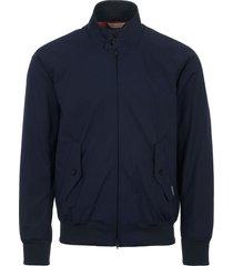 stuarts x baracuta 50th anniversary g9 archive fit harrington jacket - dark navy brcps0421-300