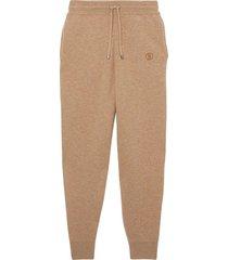 monogram cashmere lounge pants