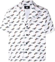 gun print shirt