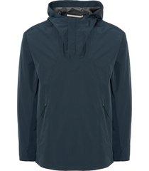 norse projects aluminium petrol ribe crisp jacket n55-0432