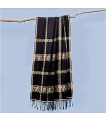 lenço liz cor: preto - tamanho: único
