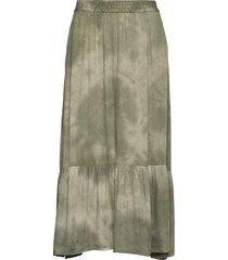 byjanette skirt - knälång kjol grön b.young