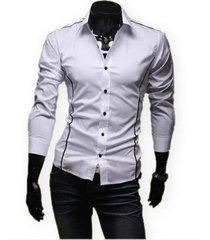 camisa orag slim fit  blanco