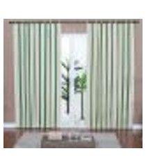 cortina ipê - 240 x 300 cm oliva