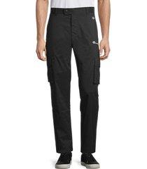 champion men's athletic cargo pants - black - size xl
