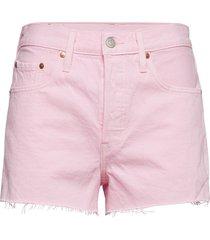 501 high rise short light pink shorts denim shorts rosa levi´s women