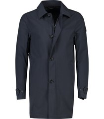 airforce trenchcoat donkerblauw