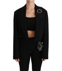 jas cropped blazer stretch jacket