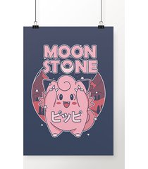 poster moon stone