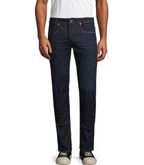 g-star raw men's classic slim jeans - dark aged - size 32 32