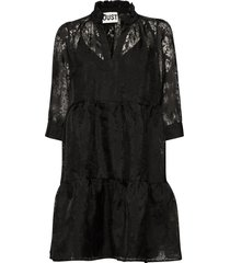 kiki dress kort klänning svart just female