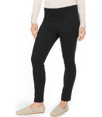 charter club chelsea twill tummy-control cropped pants, created for macy's