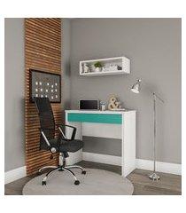 cadeira de escritório diretor giratória winnipeg com braços preta