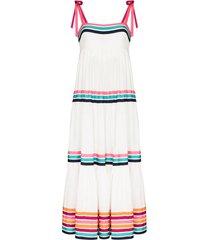 zimmermann lulu tiered maxi dress - white