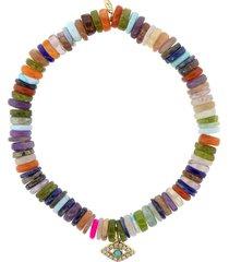 evil eye multi opal bracelet