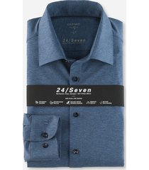 olymp 200864 13 level 5 denim stretch tricot overhemd -
