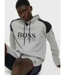 boss contem. sweatshirt h tröjor light grey
