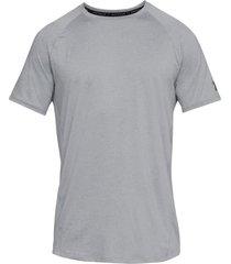 camiseta under armour mk-1 para hombre-rojo-plateado