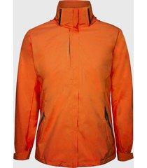 chaqueta 3 en 1 desmontable naranja andesland